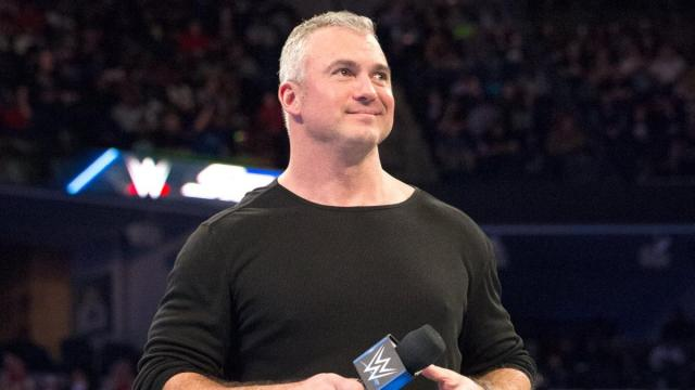 Shane McMahon on SmackDown Live when he was GM