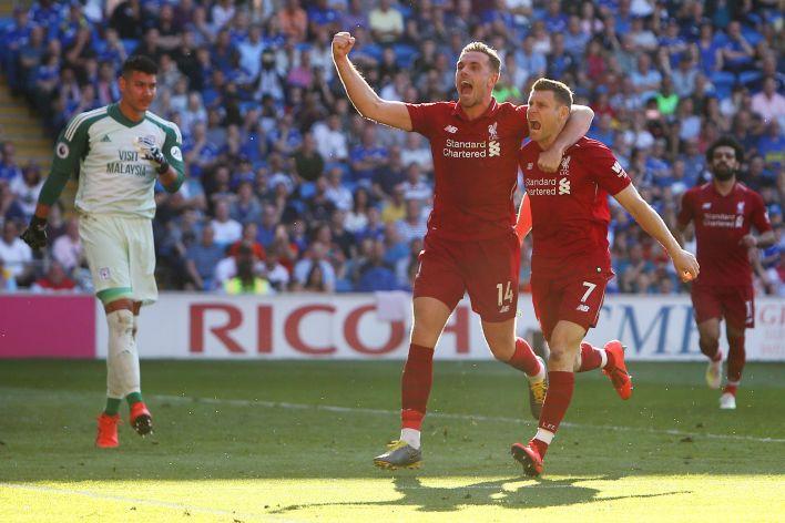 James Milner, fazla oynama süresi olmasa da Liverpool'da kilit bir oyuncu.