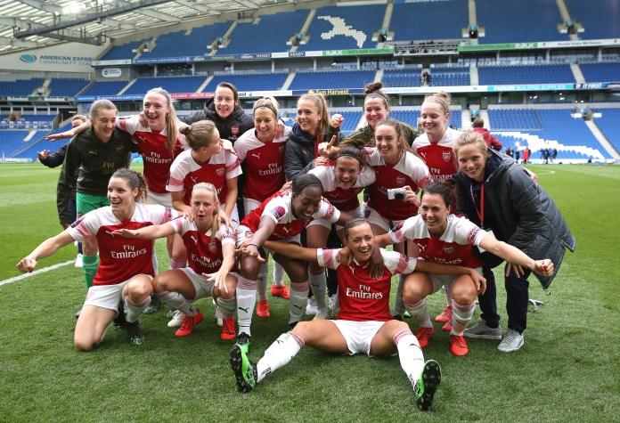 L'Arsenal parte nella nuova stagione come campioni WSL in carica