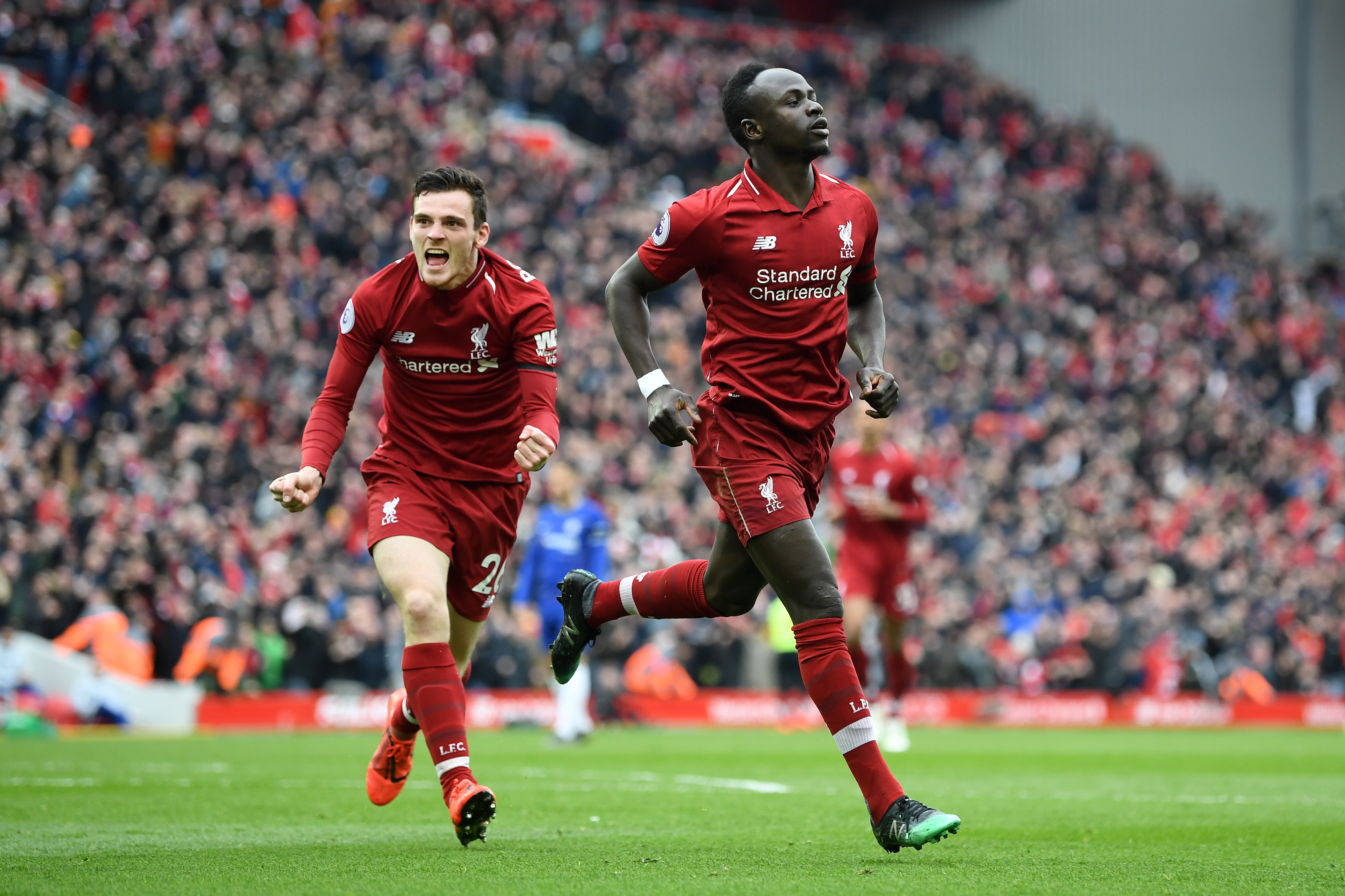 Sadio Mane has been in sensational form for Liverpool but will he be wearing their new shirt?