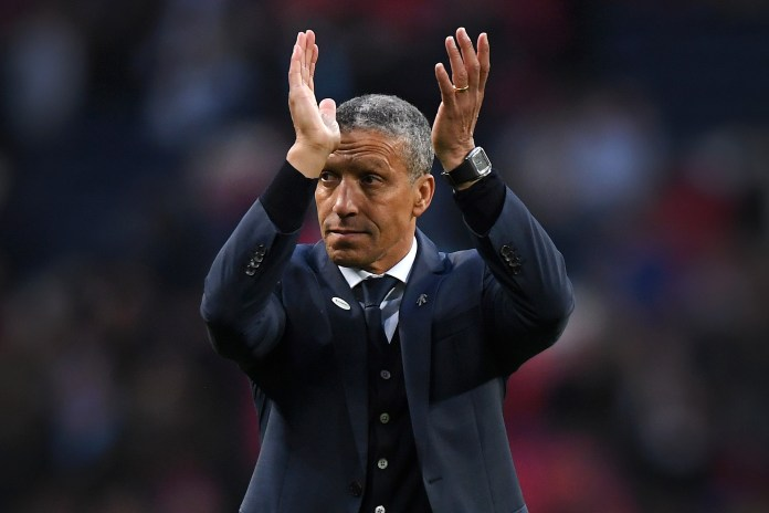 Brighton boss Chris Hughton and his team are well-liked by football fans