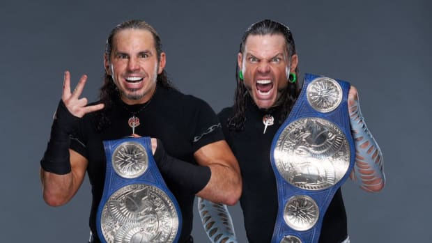 The Hardy Boyz are one of the most beloved teams ever