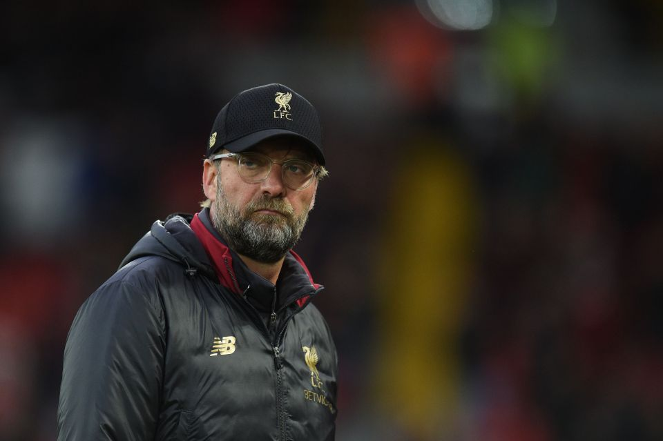Jurgen Klopp says his side have done everything they could have possibly done in this year's title race