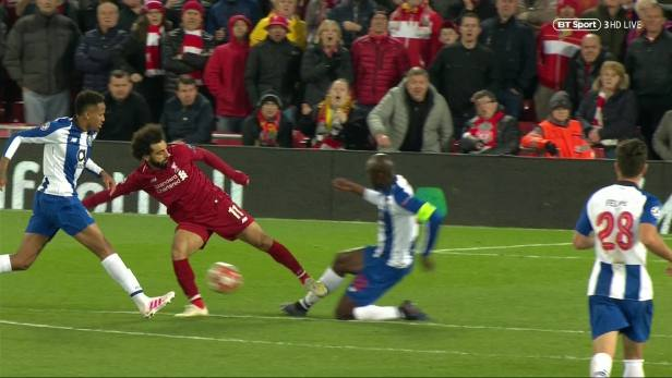 Salah was not even booked for the challenge