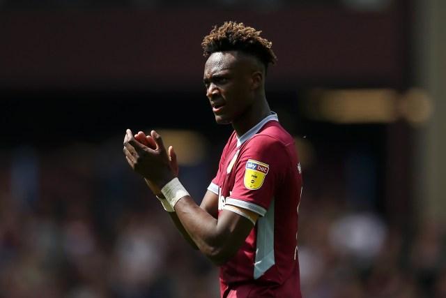 Aston Villa star Tammy Abraham scored against West Brom