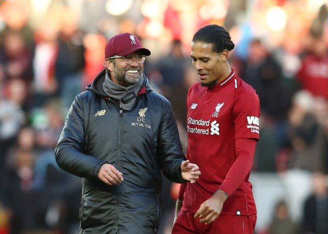 Klopp brought Van Dijk to Anfield and has been rewarded many times over