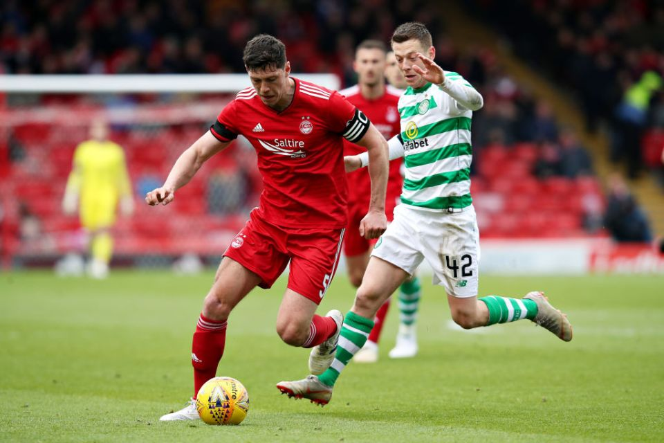 Aberdeen competed well with the Hoops in the first-half