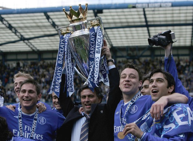 Jose Mourinho won the Premier League title in his first season