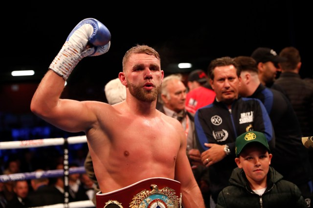 Billy Joe Saunders is a two-weight world champion