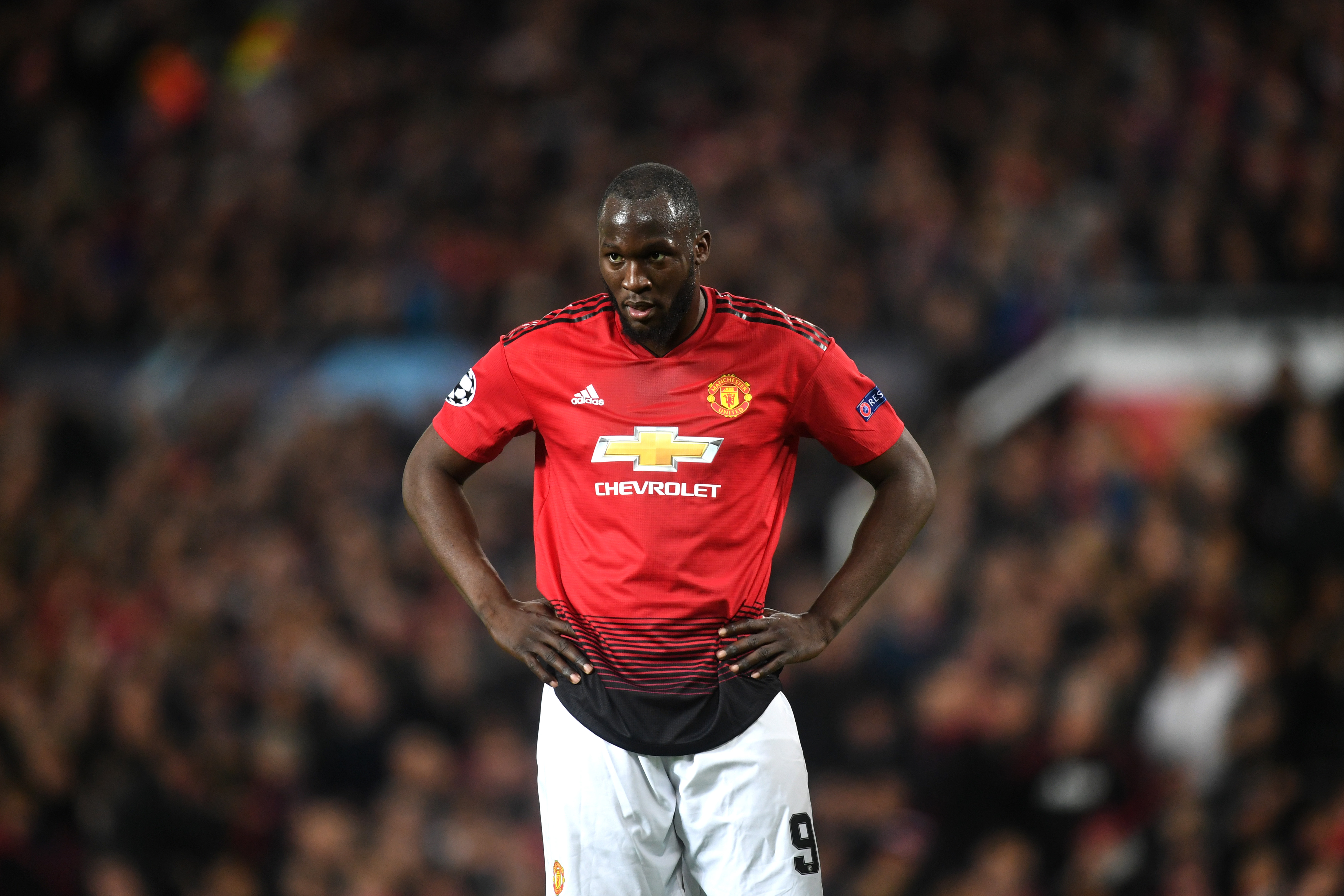 Romelu Lukaku scored 15 goals in all competitions for Manchester United last season