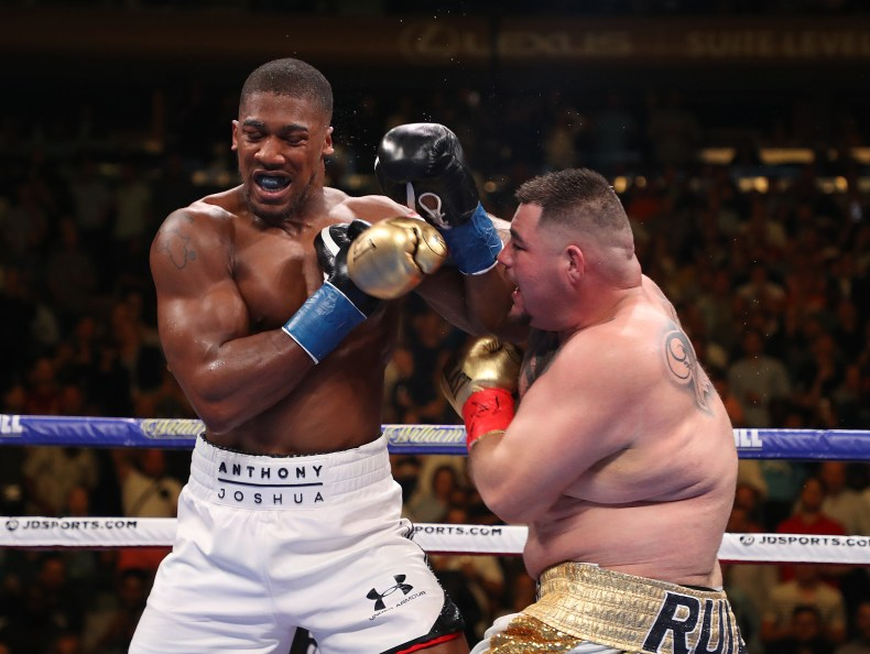 Andy Ruiz Jr knocked out Anthony Joshua in seven rounds