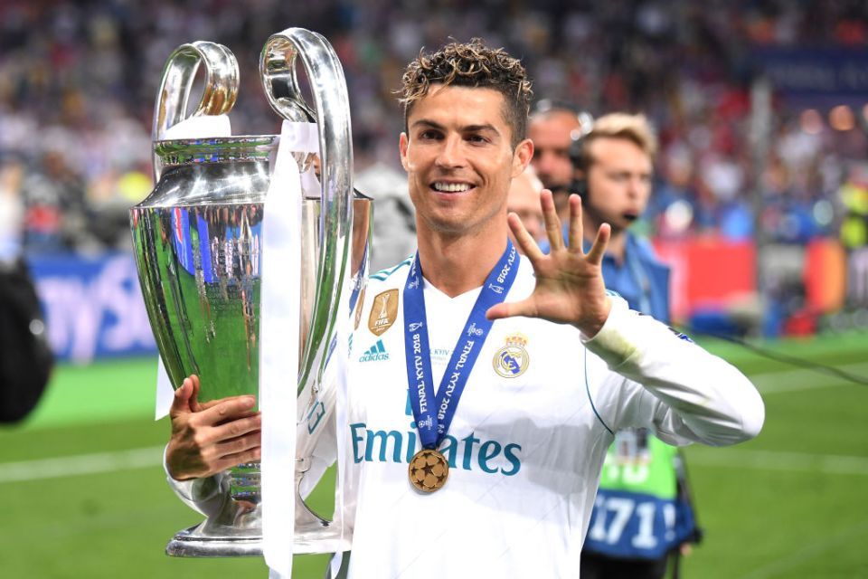 Ronaldo left Real at the top in the summer of 2018 after winning a fifth Champions League