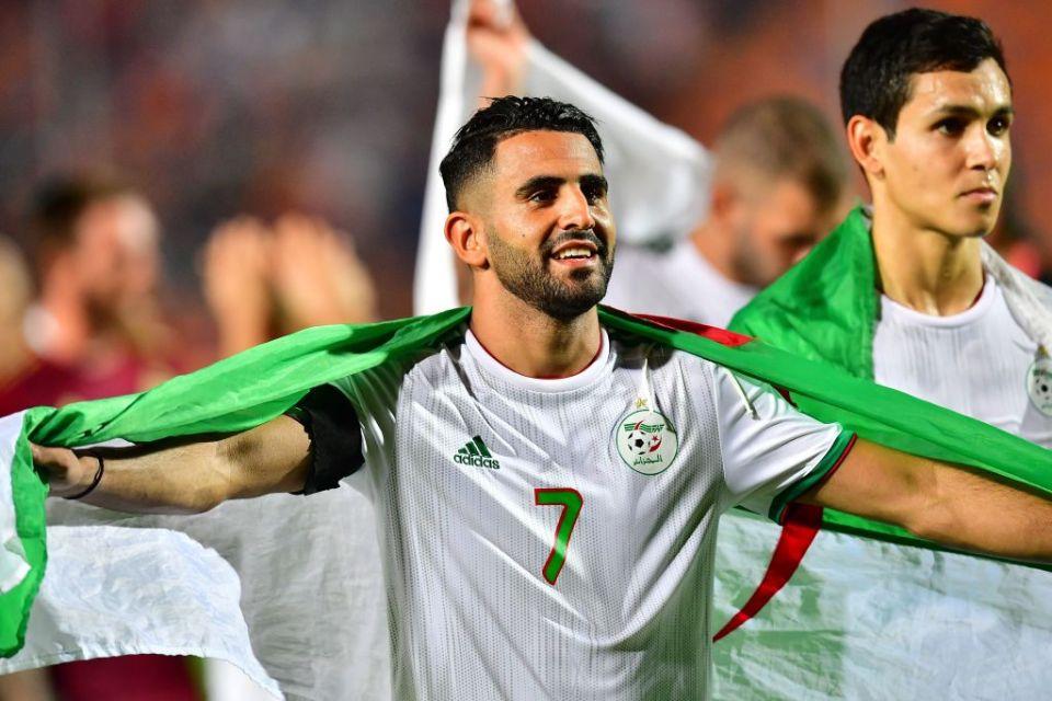 Mahrez helped Algeria win the last AFCON