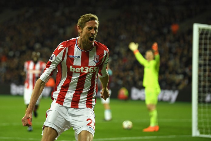 Peter Crouch spent eight years at Stoke