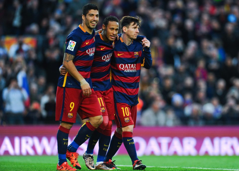 Neymar is keen to return to Barcelona where he played alongside Luis Suarez and Lionel Messi
