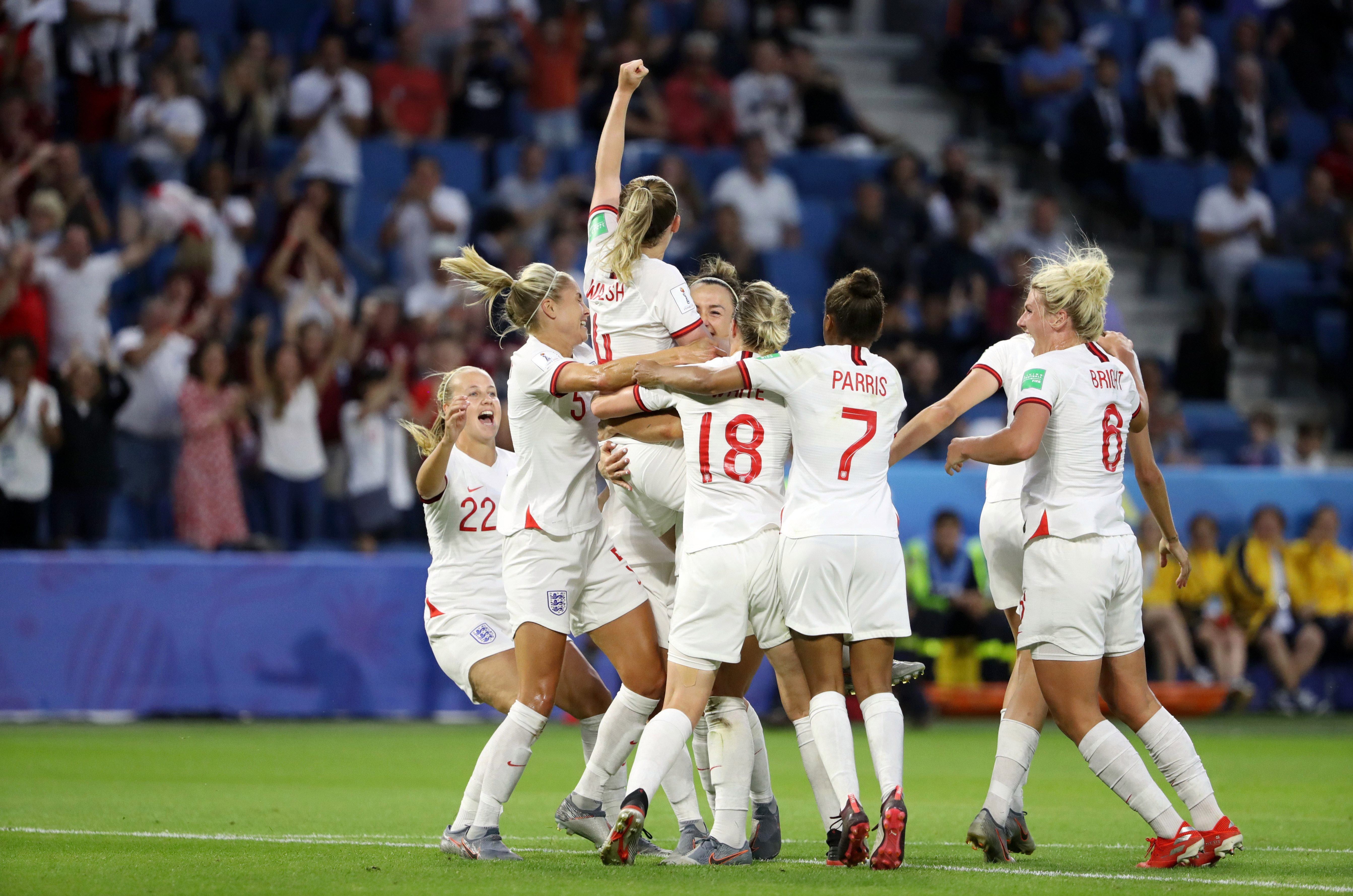 England have reached the semi-finals having conceded just once – in the group stage – and now face a USA team that has scored 22 goals so far