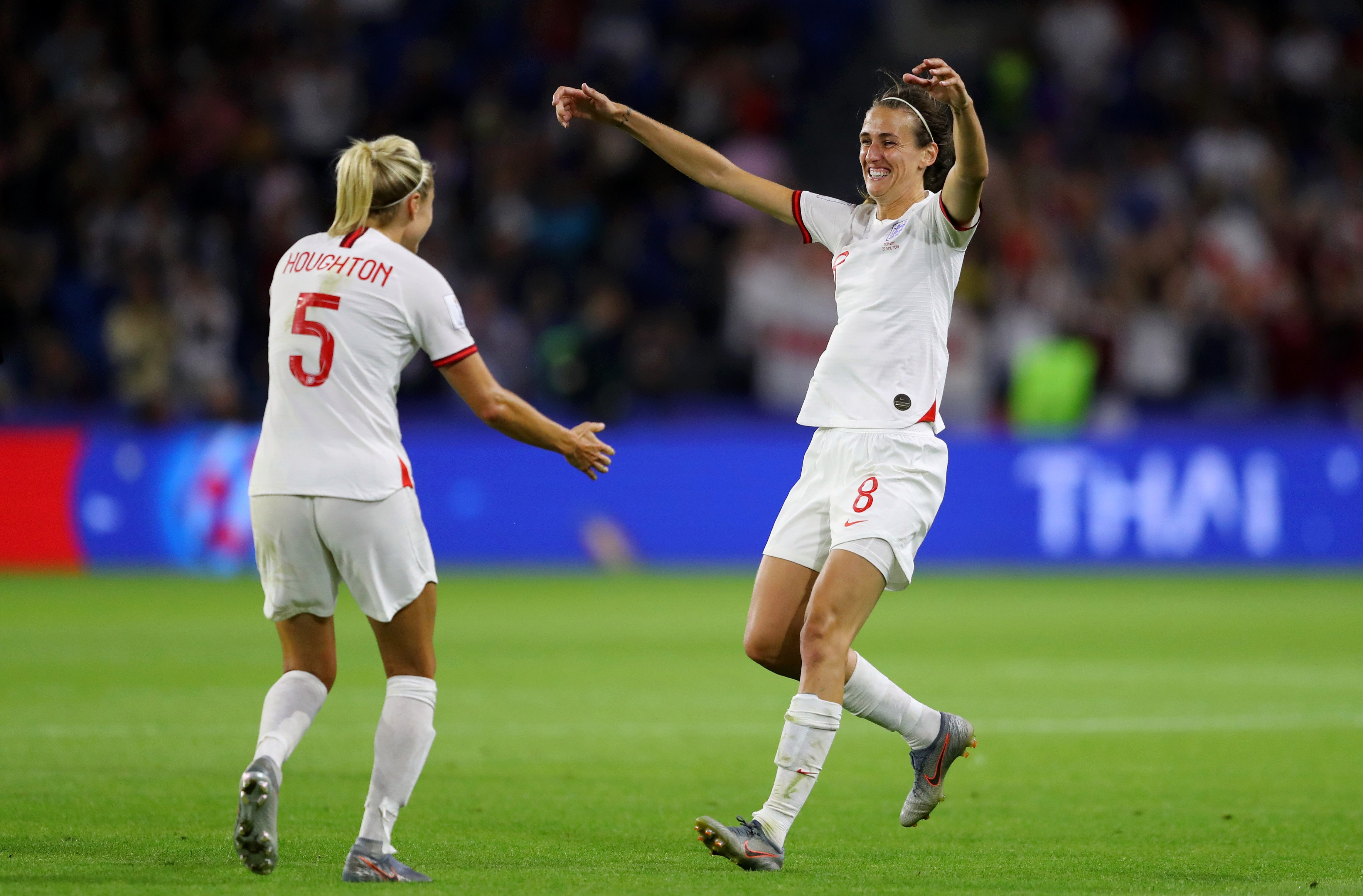Jill Scott has been a key player for England at the Women's World Cup