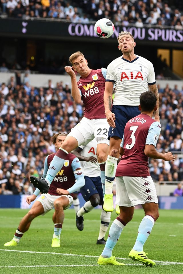 Engels did his best for Villa but couldn't hold out for a clean sheet