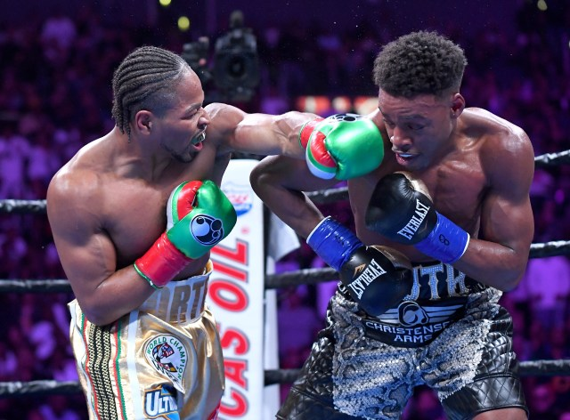 Porter pushed Errol Spence close in a thrilling fight