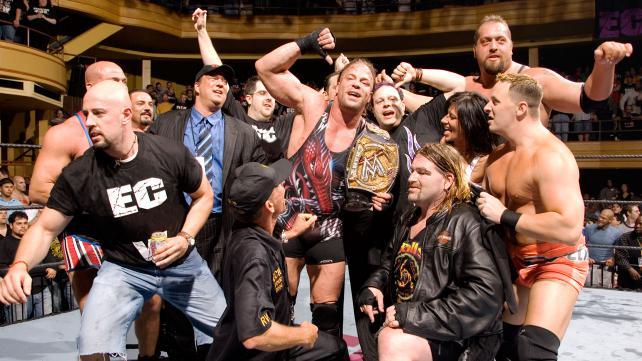 Van Dam, ECW One Night Stand '06'da WWE unvanını kazandıktan sonra