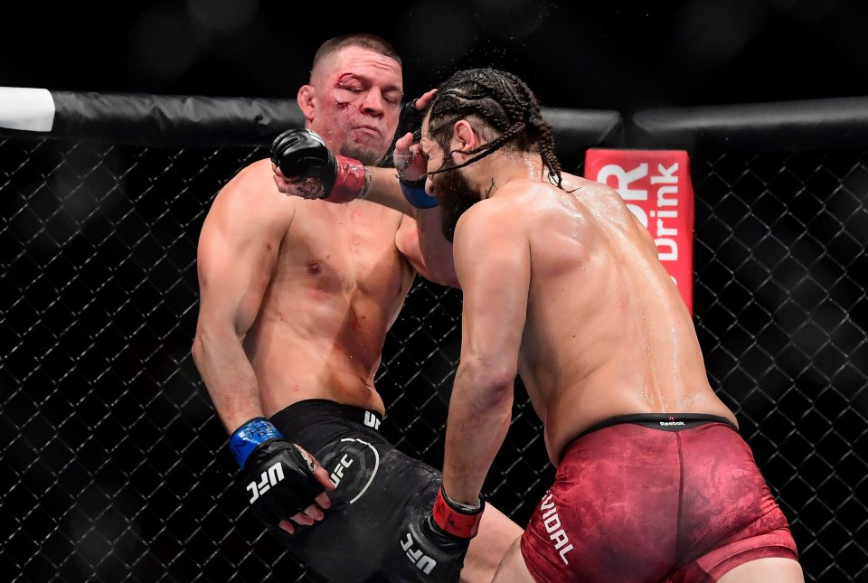 Diaz lost to Jorge Msvidal after being arrested at UFC 244