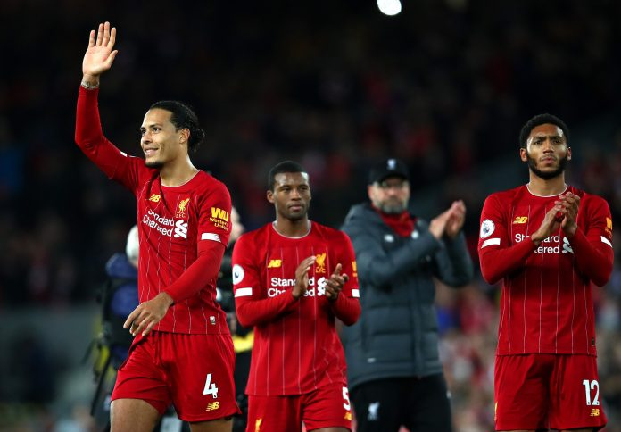 Liverpool have almost gone half the season unbeaten