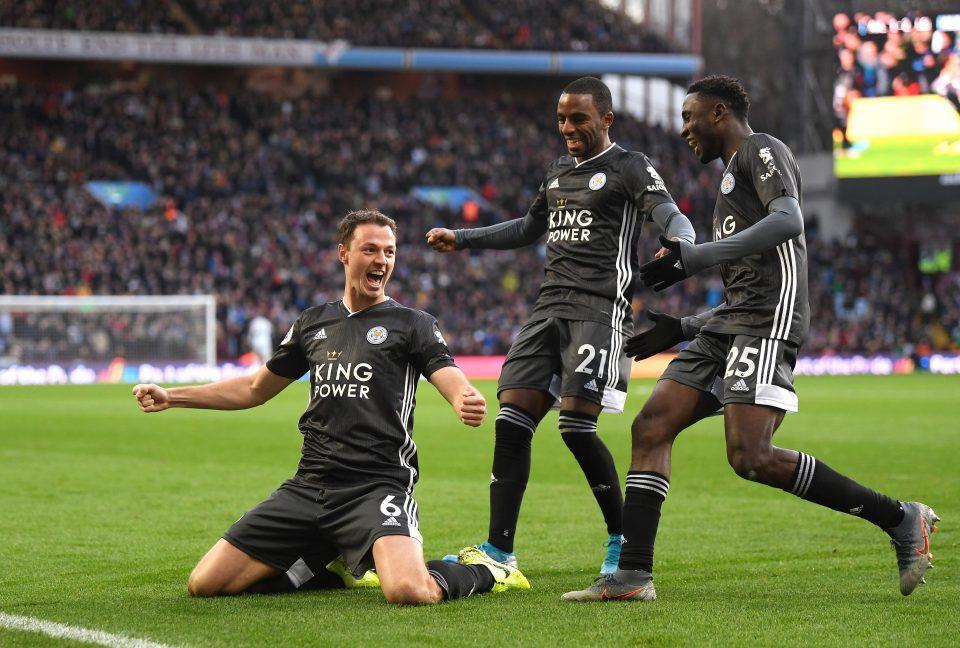 Leicester beat Aston Villa 4-1 earlier this season