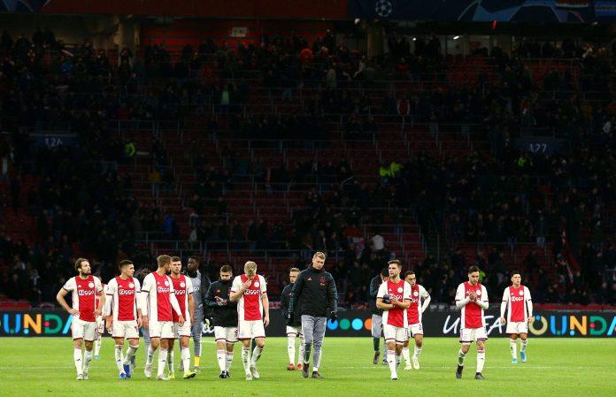 Ajax choke just like they did in last season's semi-finals