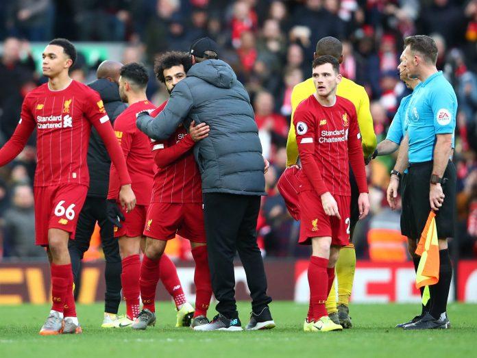 Liverpool won 2-0 against Watford