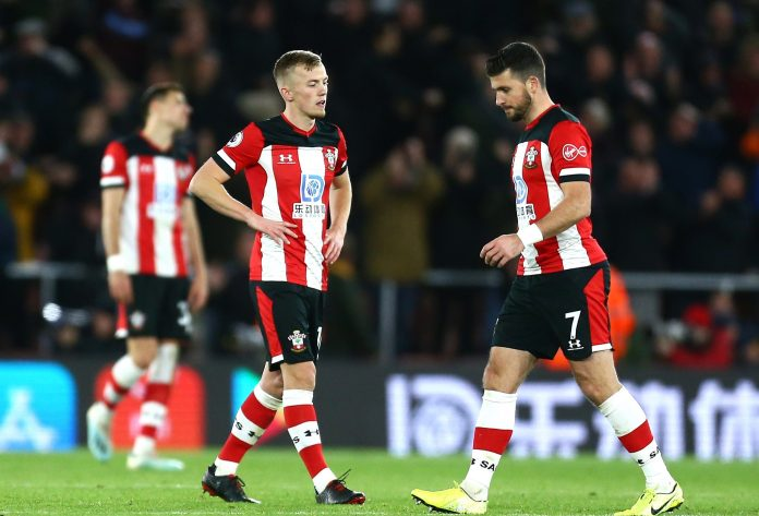 Southampton remain in the bottom three of the Premier League