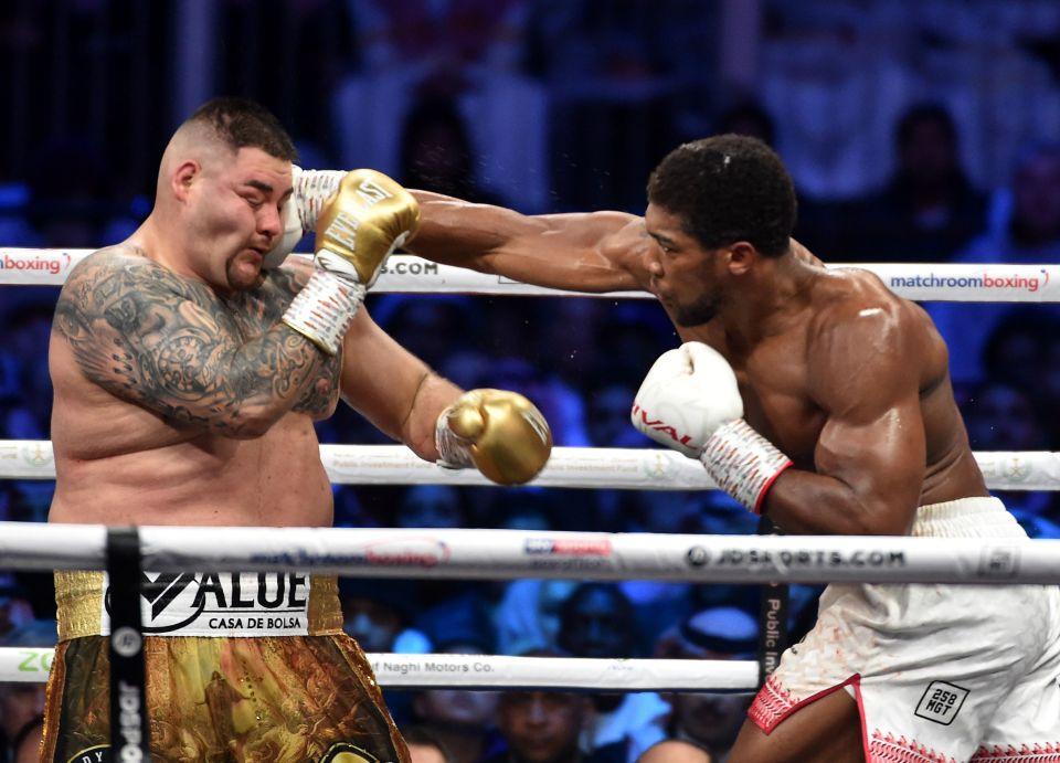 Joshua dominated Ruiz in the rematch