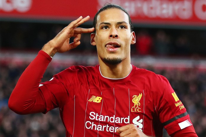 Van Dijk was quizzed by Liverpool fans on Twitter on Tuesday