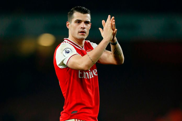 Xhaka was excellent at the heart of Arsenal's midfield as they outplayed Man United to get 2020 off to a winning start