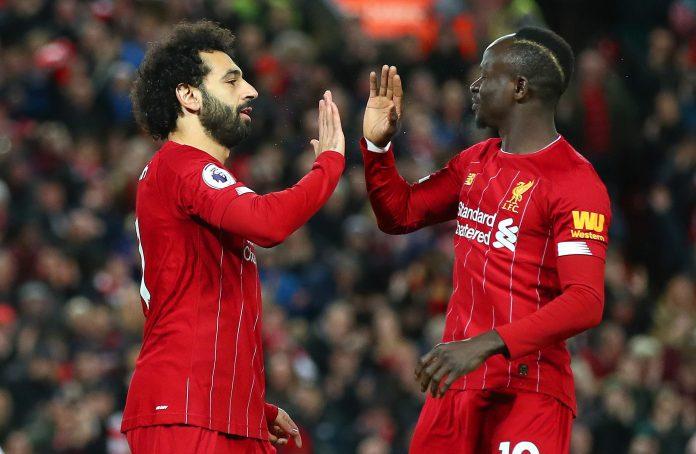 Mane and Salah led Liverpool title race
