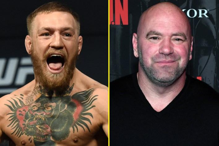 Dana White, Conor McGregor'un altın kazı olduğunu biliyor