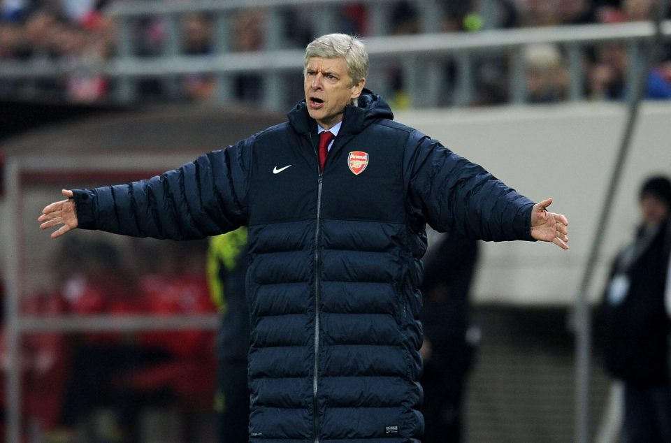 Wenger kept his cool as Arsenal boss ... most of the time
