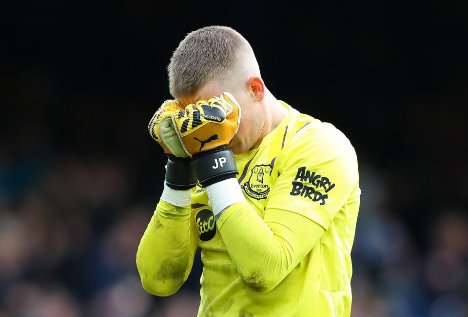 Pickford risks losing No 1 place in England to Nick Pope or Dean Henderson