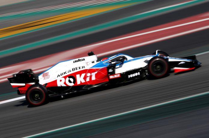 Williams' new FW43 car for the 2020 season
