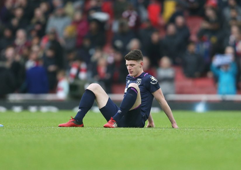 Declan Rice is wasted fighting a relegation battle with West Ham