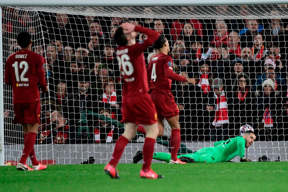 Liverpool were undone by their own wastefulness and Adrian's double mistake against Atletico Madrid