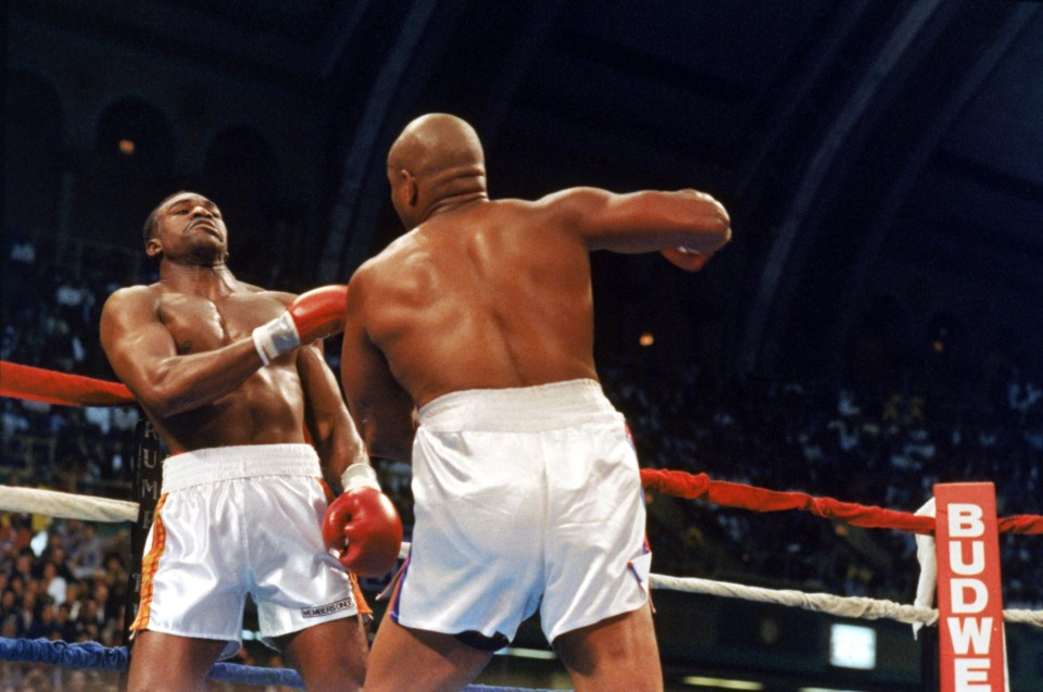 Foreman surprised a lot of people during the full 12 rounds with 'The Real Deal'