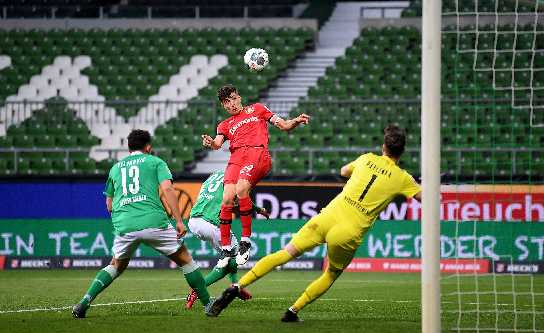 Kai Havertz: Wonderkid being targeted by Liverpool, Arsenal and Man City bags brace on Bundesliga return thumbnail