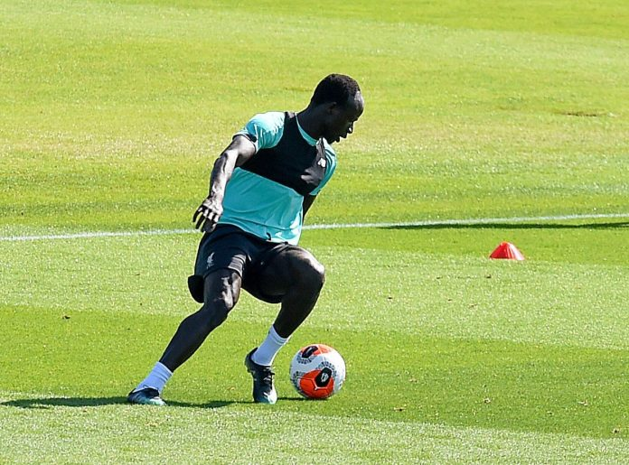 This is the second week players have been training back at their clubs, while keeping socially distanced