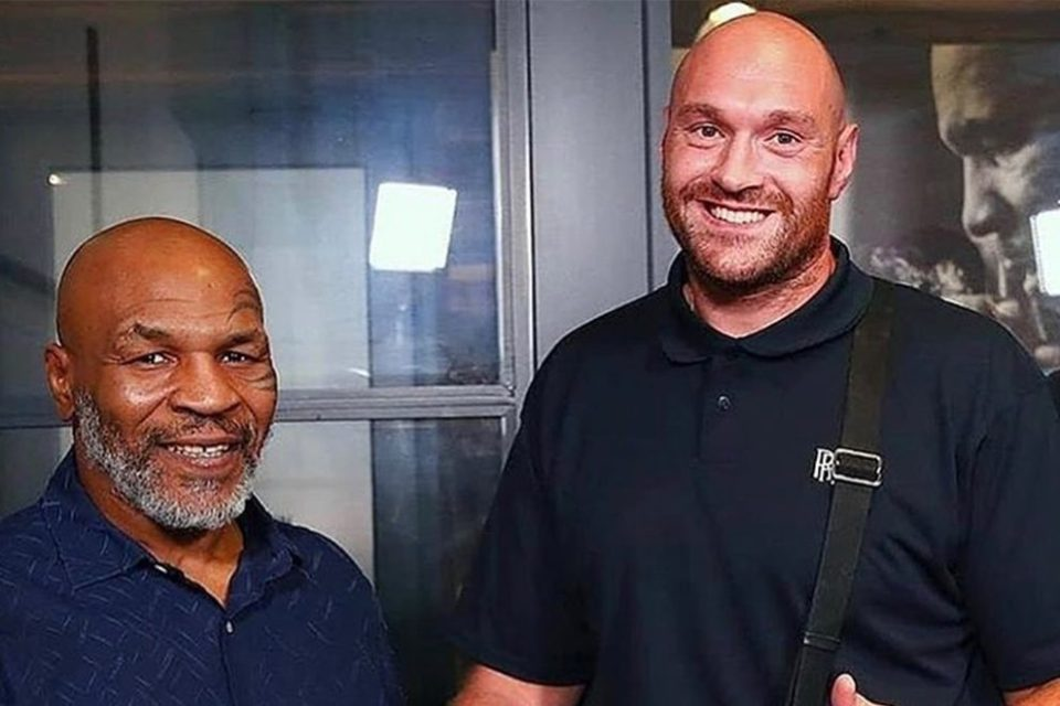 Tyson Fury's dad named him after Mike Tyson
