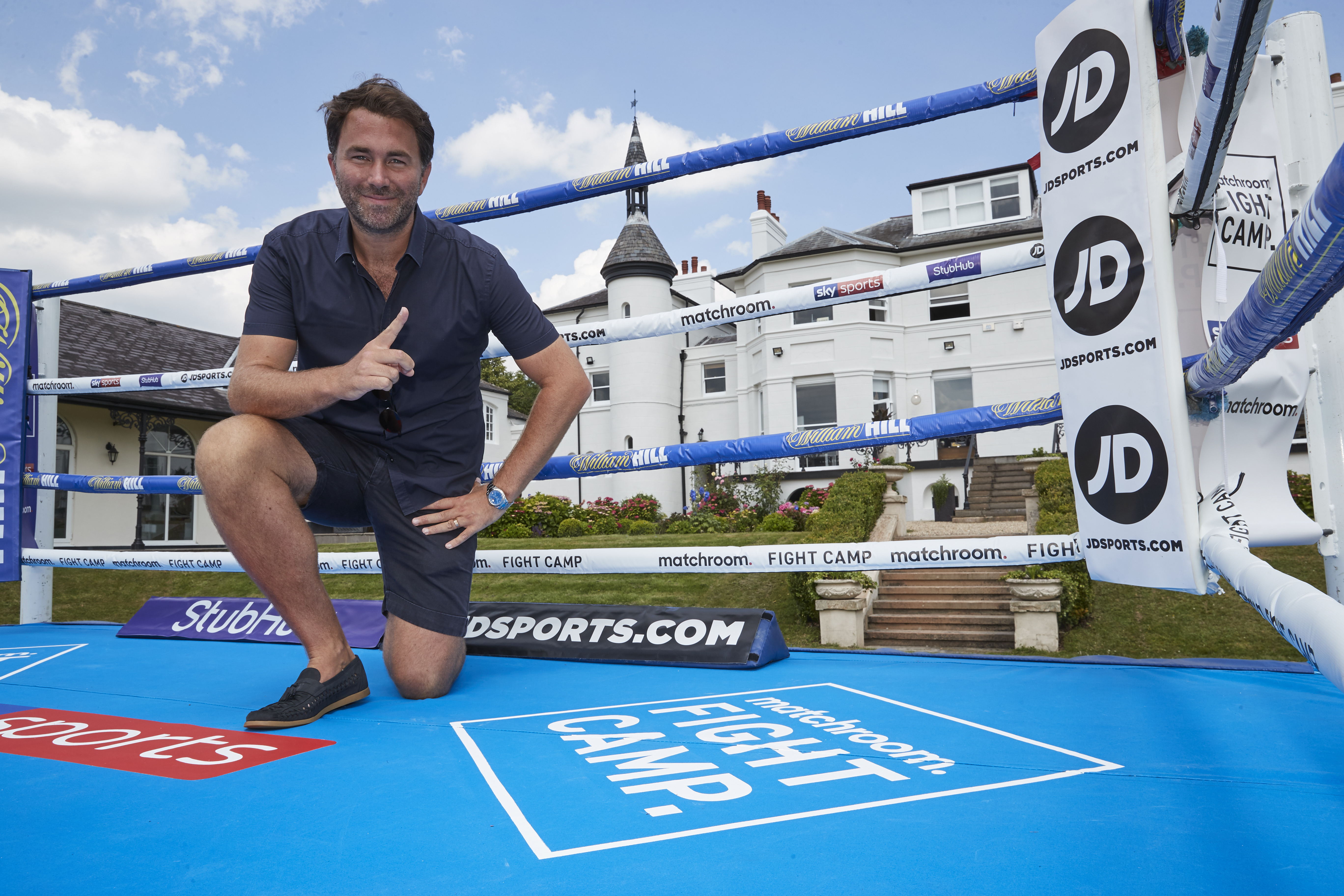 Eddie Hearn EXCLUSIVE: Matchroom chief believes Fight Camp introduction could see boxing 'challenging other s thumbnail