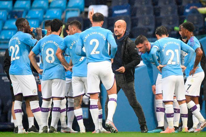 Pep Guardiola's Manchester City beat Arsenal 3-0 last week