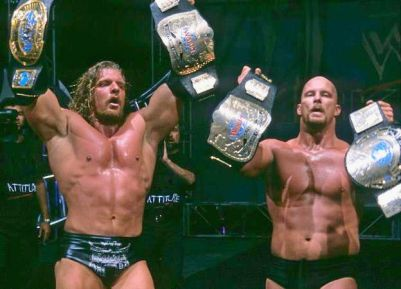 The greatest match in RAW history WWE will NEVER celebrate was Stone Cold Steve Austin and Triple H vs Chris Jericho and Chris Benoit