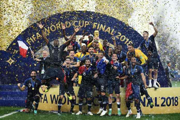 A França venceu a Croácia por 4 a 2 para ganhar a Copa do Mundo em 2018