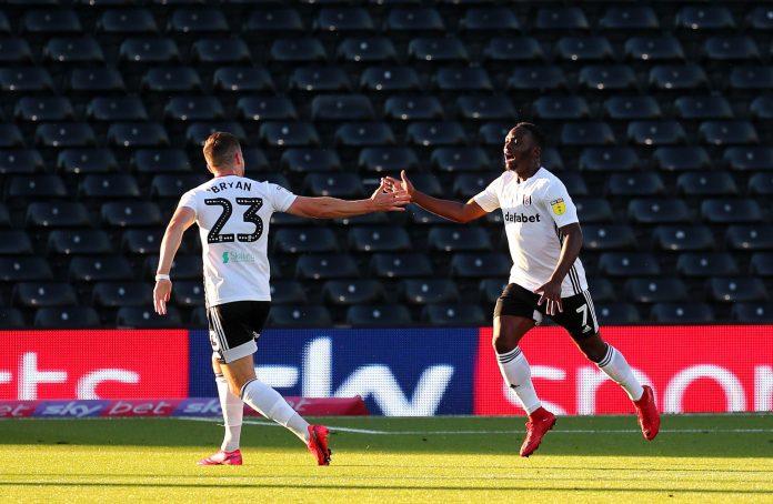 Neeskens Kebano scored for Fulham at Craven Cottage