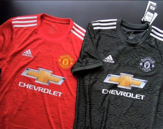 United's home and away kits for the 2020/21 season have leaked online